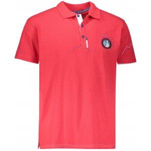 Pánské tričko s krátkým rukávem KILPI KILIMANJARO-M HM0100KI ČERVENÁ