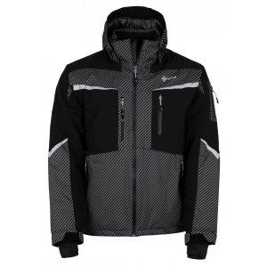 Pánská zimní bunda KILPI IO-M HM0113KI TMAVĚ ŠEDÁ
