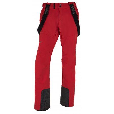 Pánské zimní kalhoty KILPI RHEA-M HM0014KI ČERVENÁ