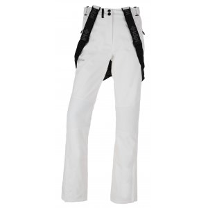 Dámské zimní softshellové kalhoty KILPI DIONE-W HL0013KI BÍLÁ 1916b99ec2