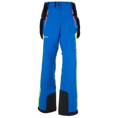 Dámské zimní kalhoty KILPI TEAM PANTS-W HL0002KI MODRÁ