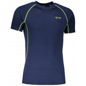 Pánské funkční triko s krátkým rukávem KILPI RAINBOW-M IM0057KI TMAVĚ MODRÁ