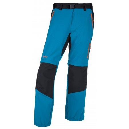 Pánské outdorové kalhoty KILPI HOSIO-M IM0082KI TMAVĚ MODRÁ