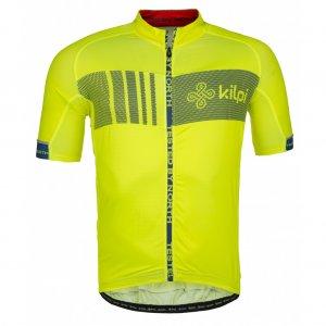 Pánský cyklistický dres KILPI CHASER-M IM0021KI ŽLUTÁ