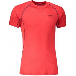 Pánské funkční triko s krátkým rukávem KILPI RAINBOW-M IM0057KI ČERVENÁ