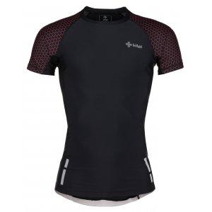 Pánské kompresní triko s krátkým rukávem KILPI COMBO-M IM0011KI ČERNÁ