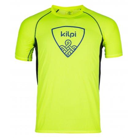 Pánské funkční triko s krátkým rukávem KILPI LITYS-M IM0010KI ŽLUTÁ