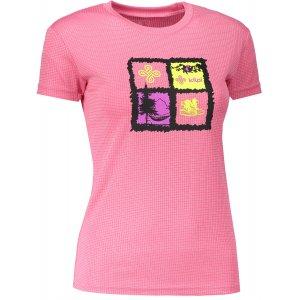 Dámské funkční triko s krátkým rukávem KILPI GIACINTO-W IL0047KI RŮŽOVÁ
