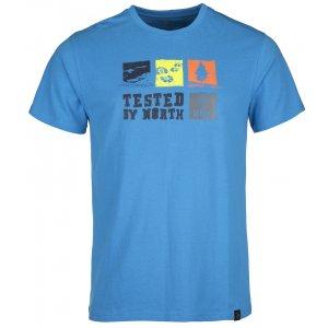 Pánské triko s krátkým rukávem KILPI TOBY-M IM0068KI MODRÁ