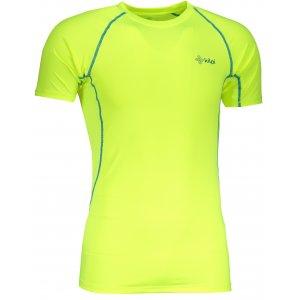 Pánské funkční triko s krátkým rukávem KILPI RAINBOW-M IM0057KI ŽLUTÁ