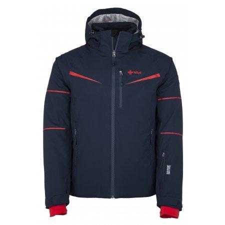 Pánská lyžařská bunda KILPI MARTIN-M JM0163KI TMAVĚ MODRÁ
