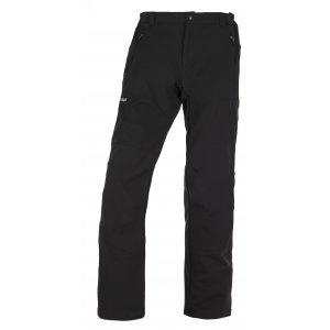 Pánské softshellové kalhoty KILPI LAGO-M JM0058KI ČERNÁ