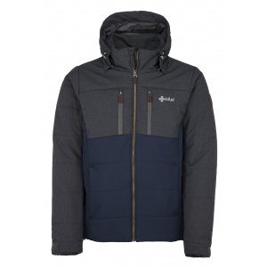 Pánská zimní bunda  KILPI TORRES-M JM0055KI TMAVĚ MODRÁ