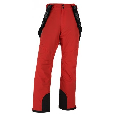 Pánské lyžařské kalhoty  KILPI METHONE-M JM0012KI ČERVENÁ