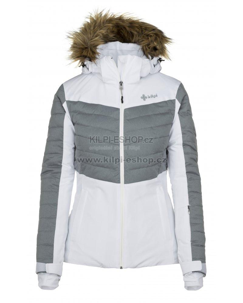 Dámská lyžařská bunda KILPI BREDA-W JL0112KI BÍLÁ velikost  38 ... aac9997295