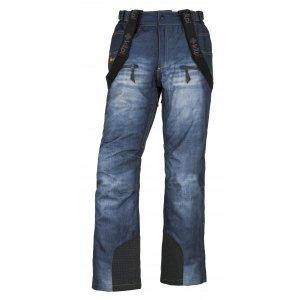 Pánské zimní kalhoty KILPI DENIMO-M JM0028KI MODRÁ
