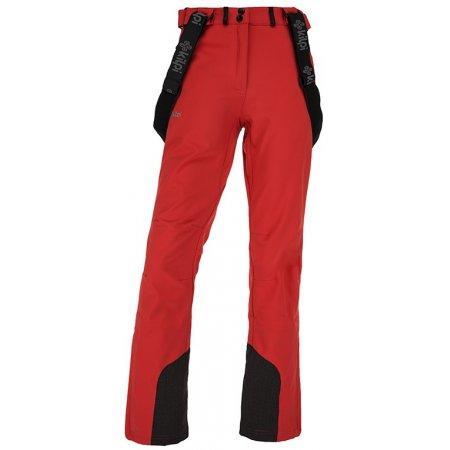 Dámské zimní softshellové kalhoty  KILPI RHEA-W JL0907KI ČERVENÁ