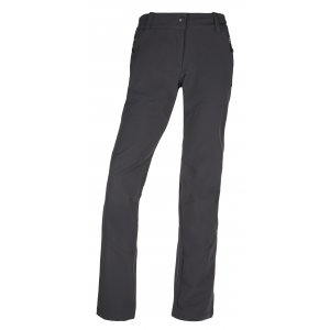 Dámské softshellové kalhoty KILPI LAGO-W JL0145KI TMAVĚ ŠEDÁ