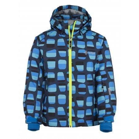 Chlapecká lyžařská bunda  KILPI BENNY-JB JJ0017KI TMAVĚ MODRÁ