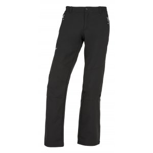 Pánské softshellové kalhoty  KILPI MANILOU-M JM0954KI ČERNÁ