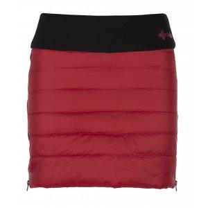Dámská zateplená sukně KILPI MATIRA-W JL0014KI ČERVENÁ 4d4a2b06f7