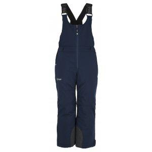 Chlapecké lyžařské kalhoty  KILPI CHARLIE-JB JJ0044KI TMAVĚ MODRÁ