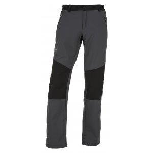 Pánské softshellové kalhoty  KILPI MANILOU-M JM0954KI TMAVĚ ŠEDÁ