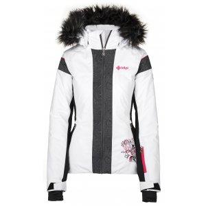 Dámská lyžařská bunda  KILPI DELIA-W JL0198KI BÍLÁ