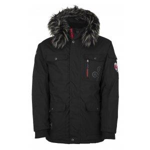Pánská zimní bunda  KILPI PILOT-M JM0109KI ČERNÁ