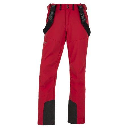 Pánské zimní softshellové kalhoty  KILPI RHEA-M JM0014KI ČERVENÁ