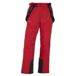 Pánské lyžařské kalhoty  KILPI MIMAS-M JM0013KI ČERVENÁ