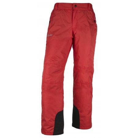 Pánské lyžařské kalhoty  KILPI GABONE-M JM0203KI ČERVENÁ