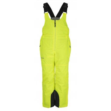 Dívčí lyžařské kalhoty  KILPI MIA-JG JJ0046KI ŽLUTÁ