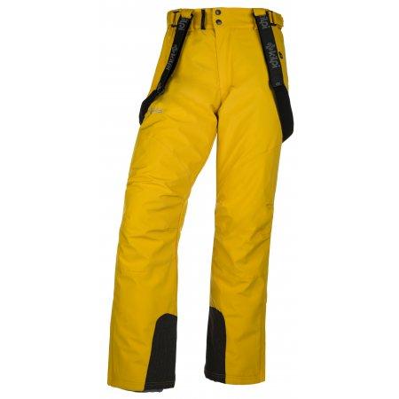 Pánské lyžařské kalhoty  KILPI MIMAS-M JM0013KI ŽLUTÁ