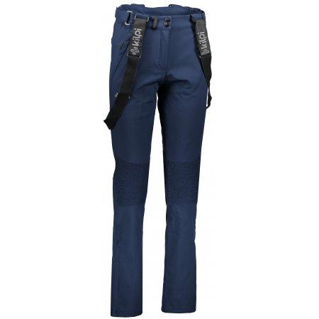 Dámské zimní softshellové kalhoty  KILPI DIONE-W JL0013KI TMAVĚ MODRÁ