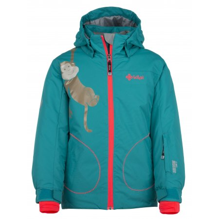 Dívčí lyžařská bunda  KILPI CINDY-JG JJ0373KI TYRKYSOVÁ