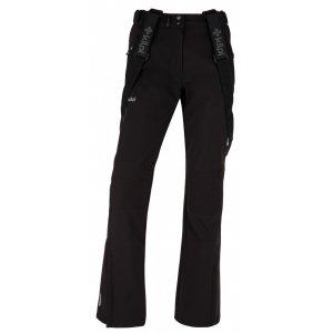 Dámské zimní softshellové kalhoty  KILPI DIONE-W JL0013KI ČERNÁ