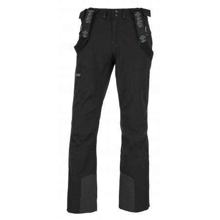 Pánské zimní softshellové kalhoty  KILPI RHEA-M JM0014KI ČERNÁ