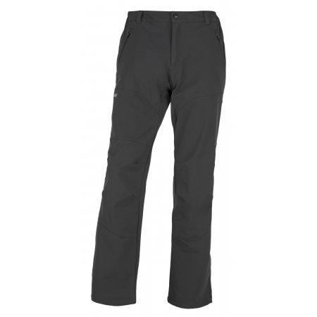 Pánské softshellové kalhoty KILPI LAGO-M JM0058KI TMAVĚ ŠEDÁ