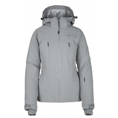Dámská lyžařská bunda  KILPI ADDISON-W JL0099KI ŠEDÁ