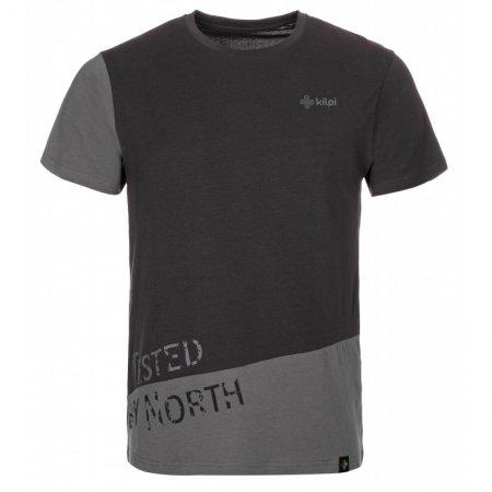 Pánské triko s krátkým rukávem KILPI CUTTY-M KM0256KI ČERNÁ