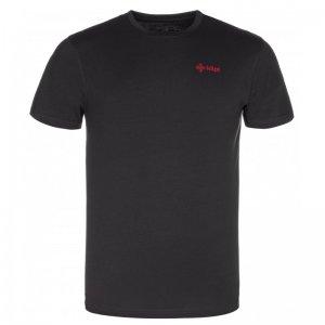 Pánské triko s krátkým rukávem KILPI WINGS-M KM0152KI ČERNÁ
