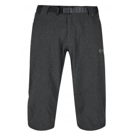 Pánské 3/4 kalhoty KILPI OTARA-M KM0238KI TMAVĚ ŠEDÁ