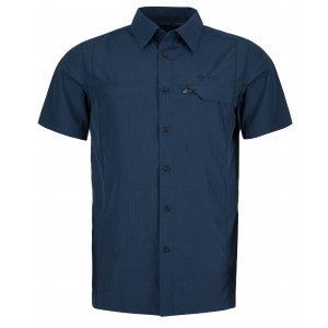 Pánská košile KILPI BOMBAY-M KM0151KI TMAVĚ MODRÁ