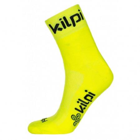 Ponožky KILPI REFTON-U KU0456KI ŽLUTÁ