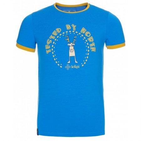 Chlapecké triko s krátkým rukávem KILPI MERCY-JB KJ0085KI MODRÁ