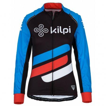 Dámská cyklistická bunda KILPI PALM-W KL0072KI MODRÁ