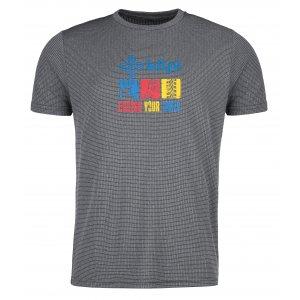 Pánské funkční triko KILPI GIACINTO-M KM0110KI TMAVĚ ŠEDÁ