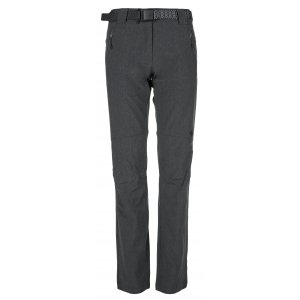 Dámské kalhoty KILPI WANAKA-W KL0026KI TMAVĚ ŠEDÁ