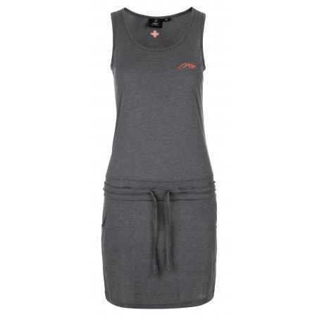 Dámské šaty KILPI MAZAMBT-W KL0218KI TMAVĚ ŠEDÁ